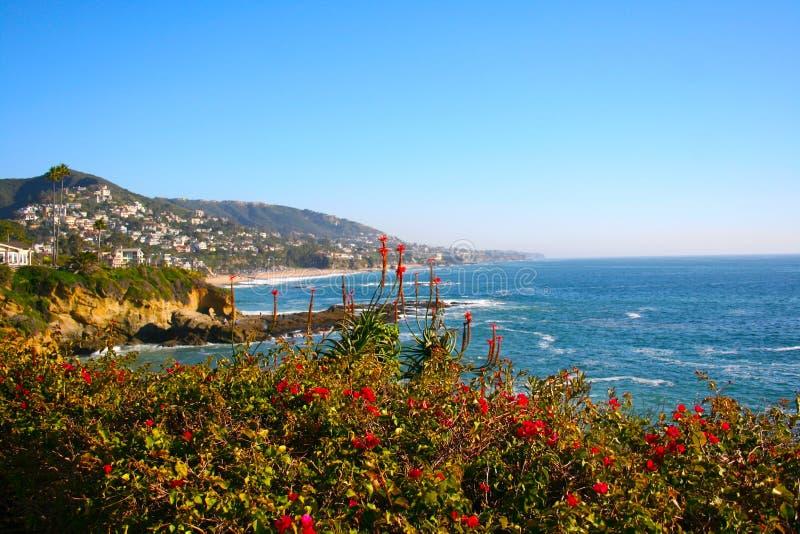Costa del Laguna Beach fotografía de archivo libre de regalías
