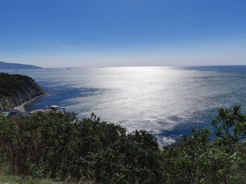 Costa del Mar Negro de Novorossiysk foto de archivo libre de regalías