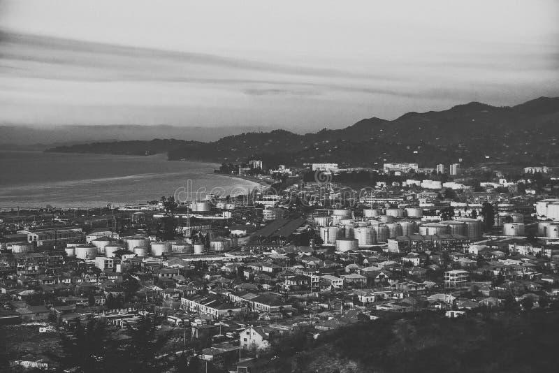 Costa del Mar Nero, Geaorgia fotografia stock libera da diritti