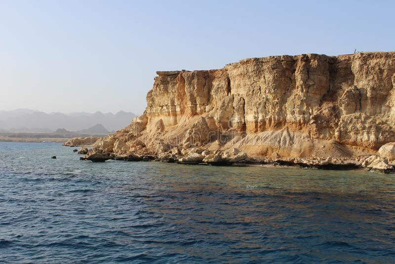 Costa del Mar Rojo fotografía de archivo
