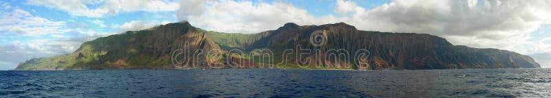 Costa del Na Pali de Kauai imagenes de archivo