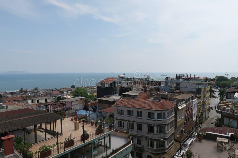 Costa del norte del mar de Mármara en Estambul, Turquía imágenes de archivo libres de regalías