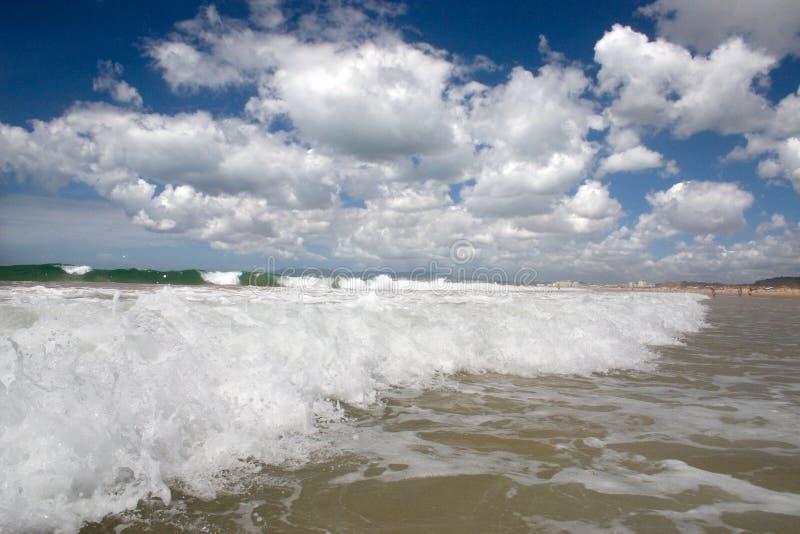 Costa del océano foto de archivo