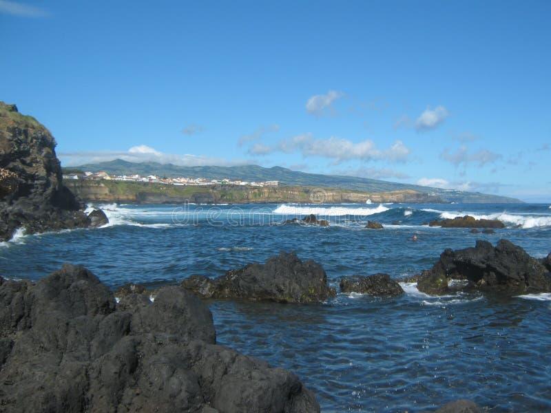 Costa del océano imagen de archivo