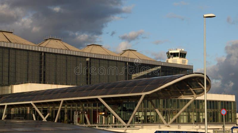 Costa del Sol机场在马拉加 图库摄影