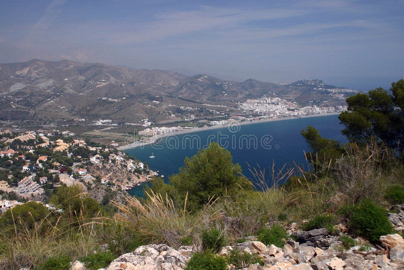 Costa del Sol, Andalucia, Spai royalty-vrije stock fotografie