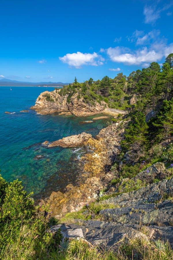 Costa del zafiro, Nuevo Gales del Sur, Australia imagen de archivo