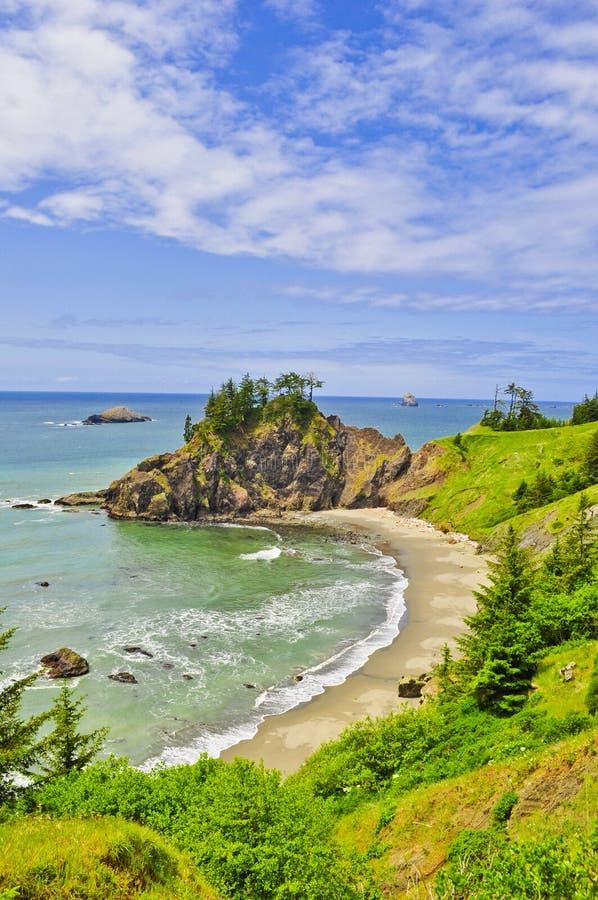 Costa dell'Oregon immagine stock libera da diritti