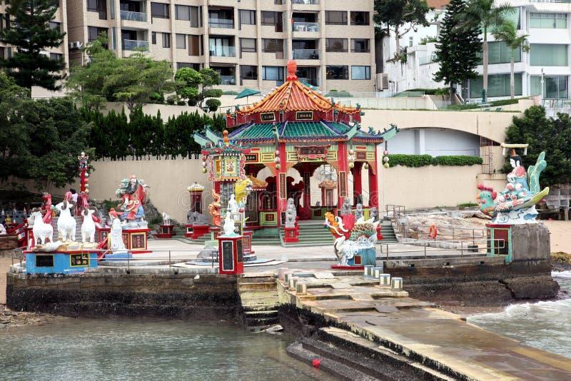 Costa della città di Hong Kong fotografia stock libera da diritti