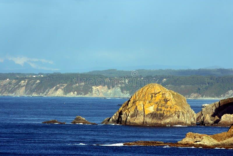 Costa delle Asturie, Spagna fotografia stock libera da diritti