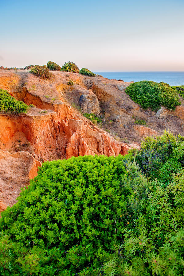 Costa di Algarve fotografia stock