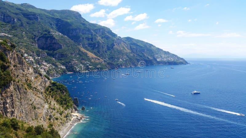 Costa di Amalfi immagini stock