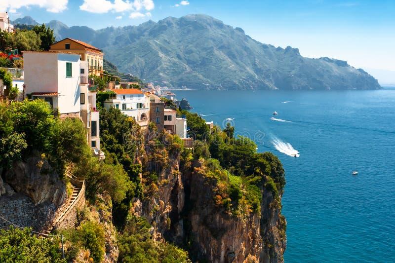 Costa di Amalfi, Italia fotografie stock libere da diritti