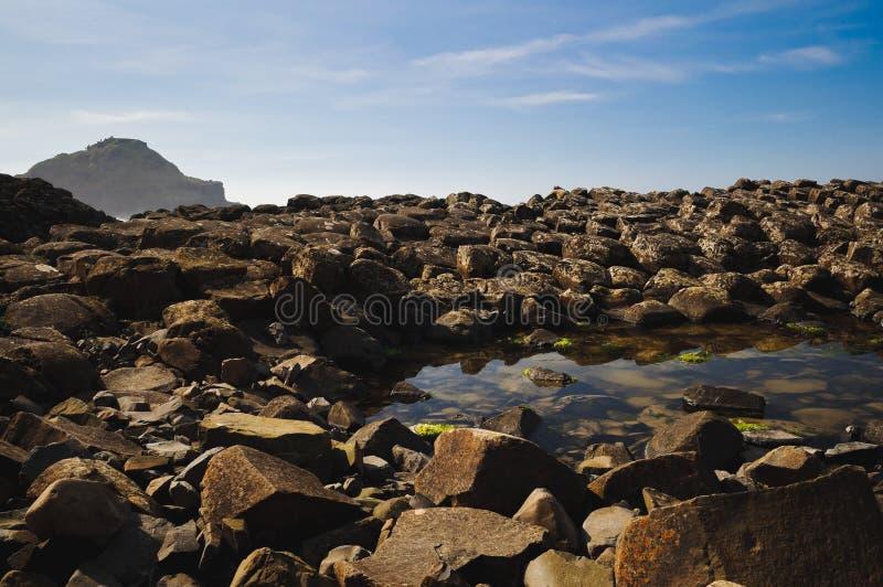 Costa di Antrim fotografia stock libera da diritti