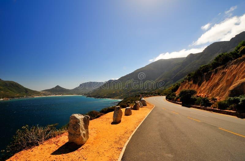 Costa di Cape Town, Sudafrica immagini stock