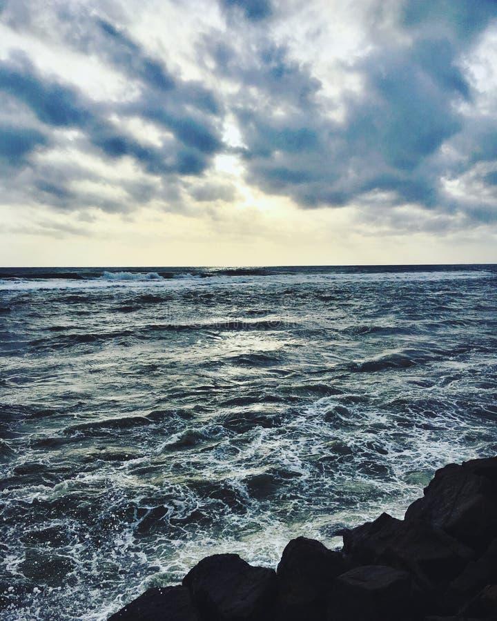 Costa di Colombo fotografie stock
