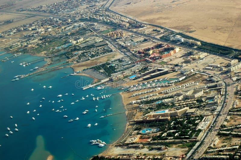 Costa di Hurghada immagine stock libera da diritti