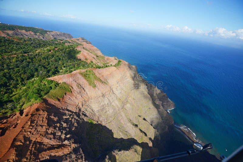 Costa di Kauai fotografia stock libera da diritti