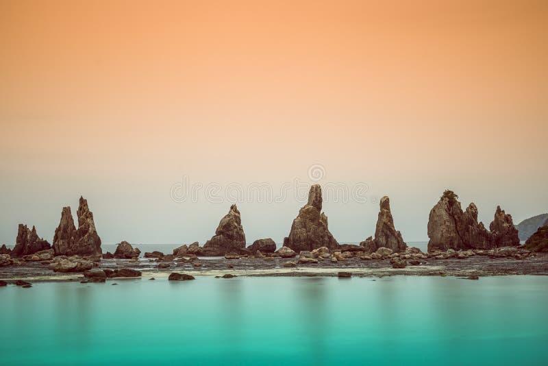Costa di Kushimoto, Giappone fotografia stock libera da diritti