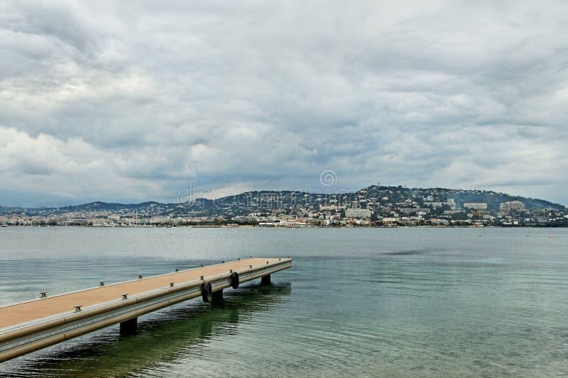 Costa di Sainte-Margurite. fotografia stock libera da diritti