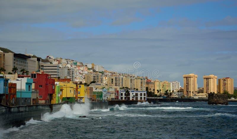 Costa di San Cristobal e del Las Palmas fotografie stock