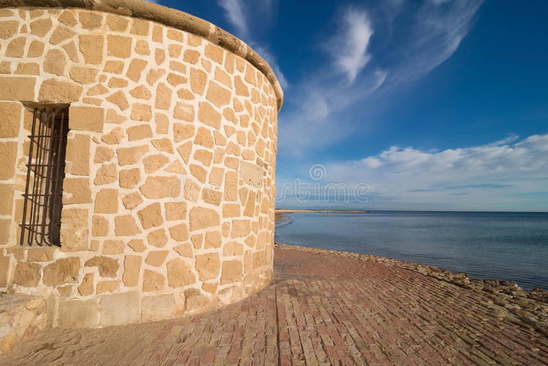 Costa di Torrevieja fotografie stock