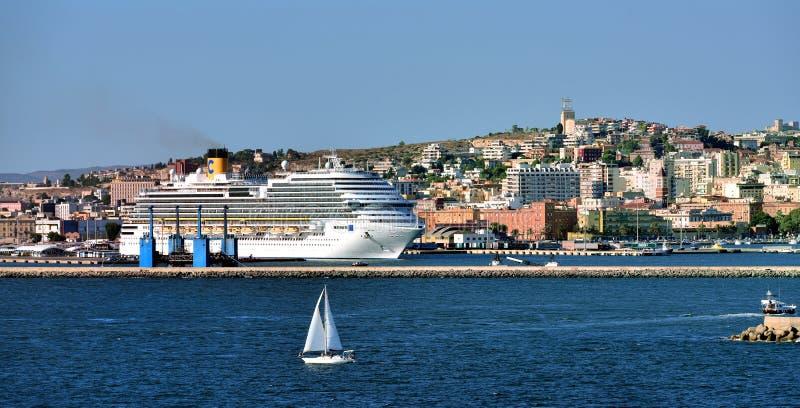 Costa Diadema In Port Of Cagliari Editorial Photography ...