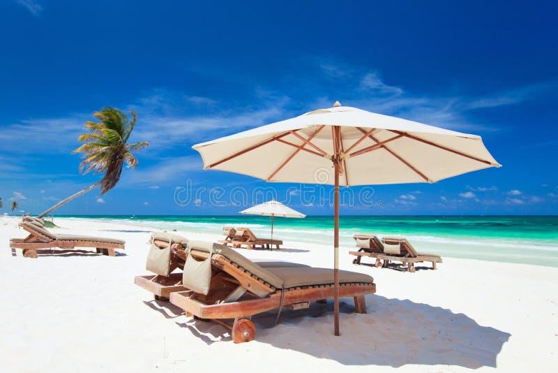 Costa do Cararibe imagem de stock