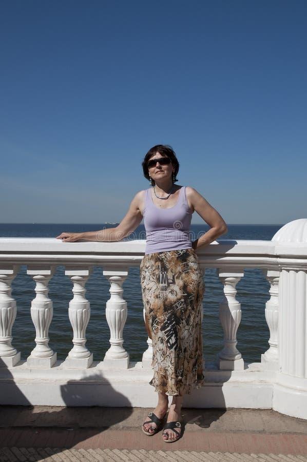 Costa do golfo finlandesa fotos de stock royalty free