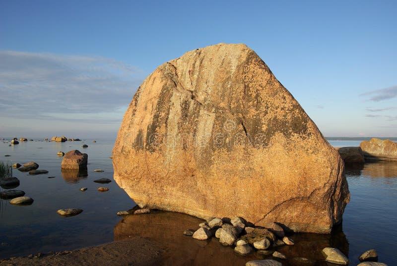 Costa do mar Báltico foto de stock royalty free