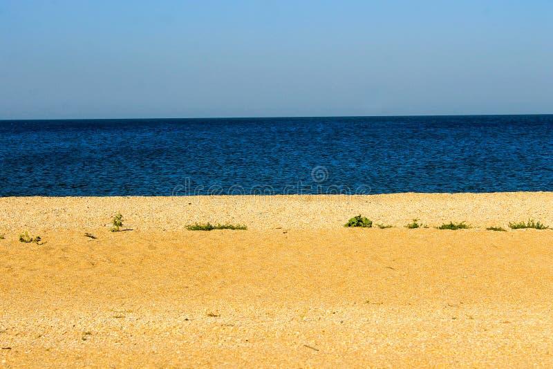 costa do mar de Azov imagem de stock royalty free
