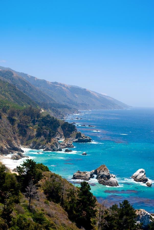 Costa do Pac?fico, Big Sur, Calif?rnia imagem de stock royalty free