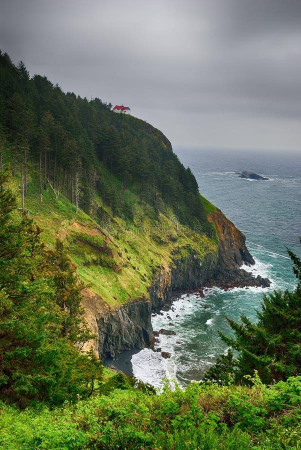 A Costa do Pacífico EUA oregon tempestade fotos de stock