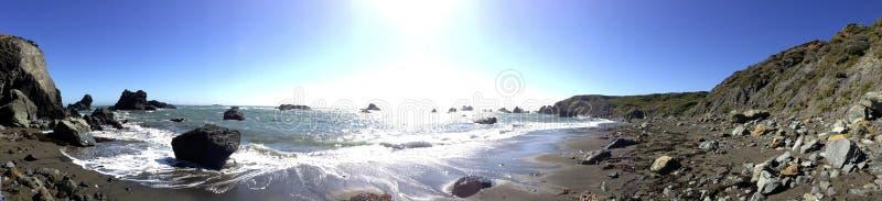 Costa do Pacífico, Sonoma County, Califórnia foto de stock royalty free