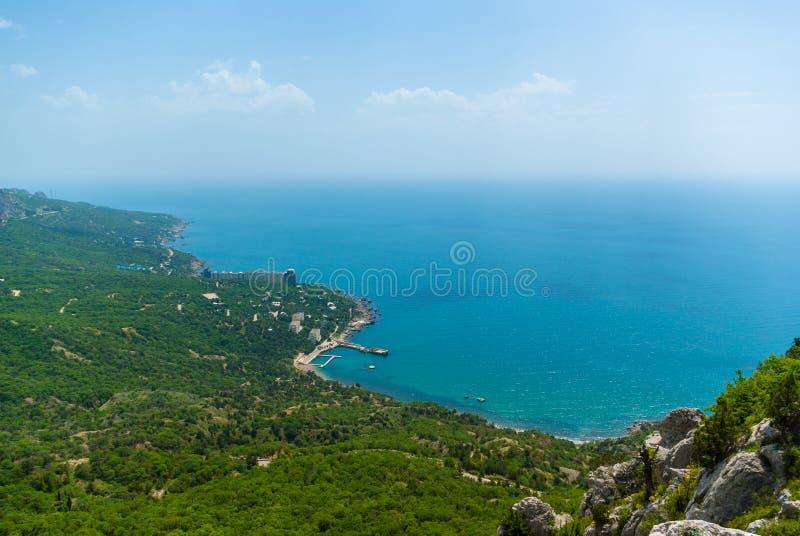 Download Costa Do Recurso Do Mar Negro Em Crimeia Foto de Stock - Imagem de orthodoxy, preto: 65578434