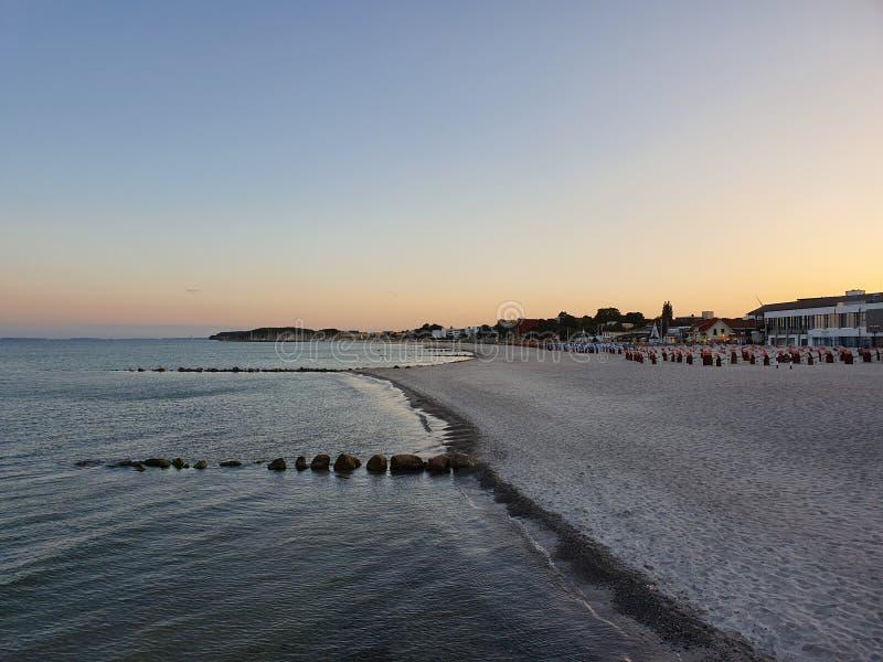 A costa dourada imagem de stock royalty free