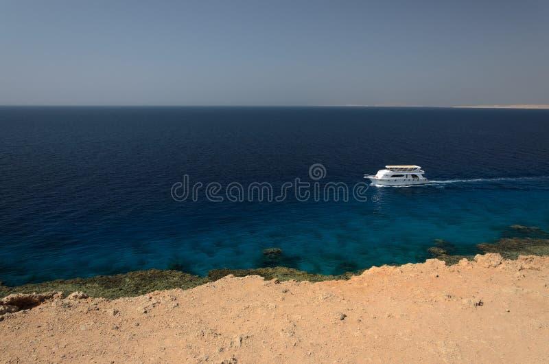Costa em Egito Mar Vermelho foto de stock royalty free