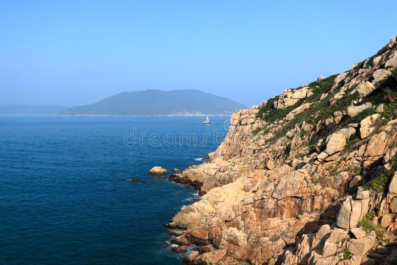 Costa em Hong Kong imagens de stock royalty free