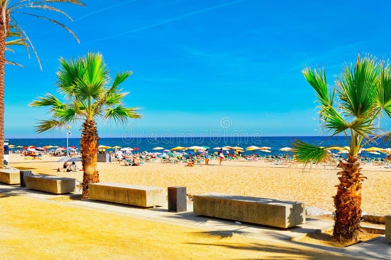 Costa en España imagen de archivo