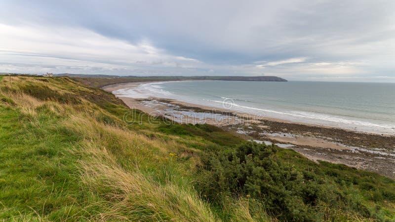 Costa en la península de Lleyn, Reino Unido Galés foto de archivo libre de regalías