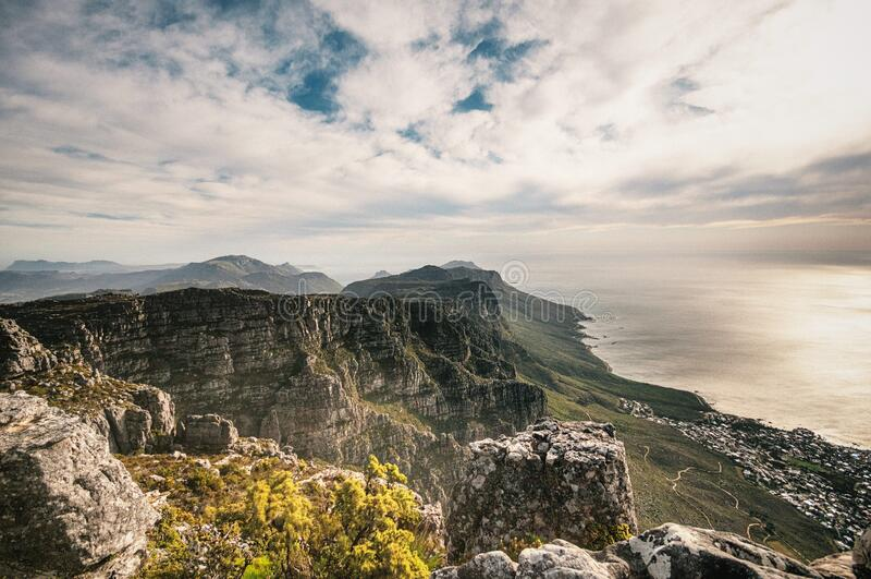 Costa en Suráfrica fotografía de archivo libre de regalías