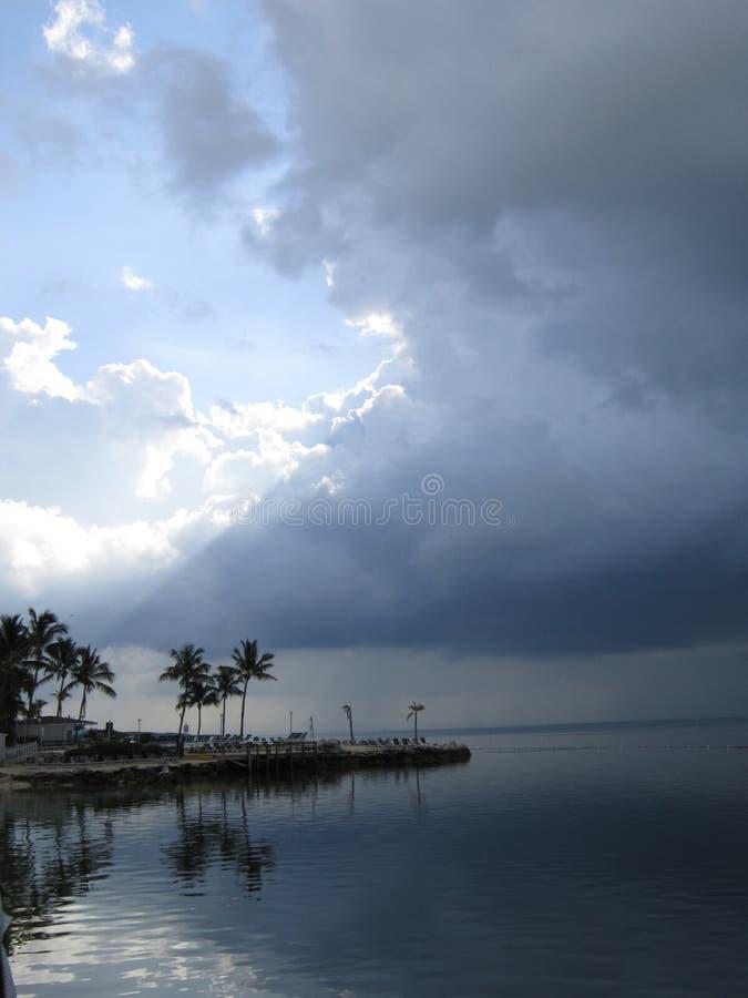 Costa este de la Florida imagen de archivo