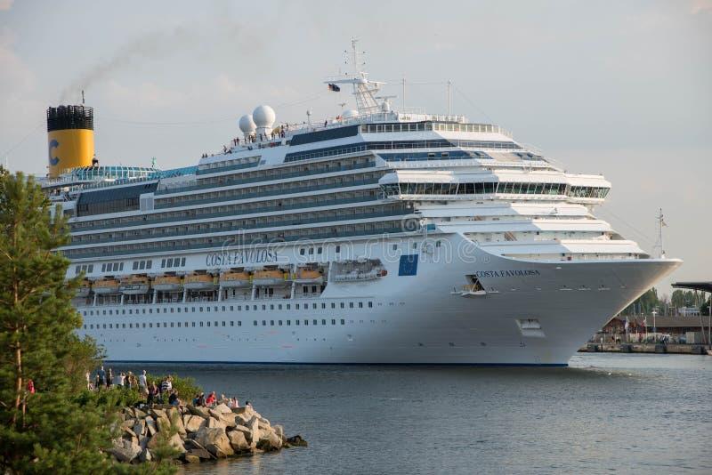 Costa Favolosa cruise ship royalty free stock photography
