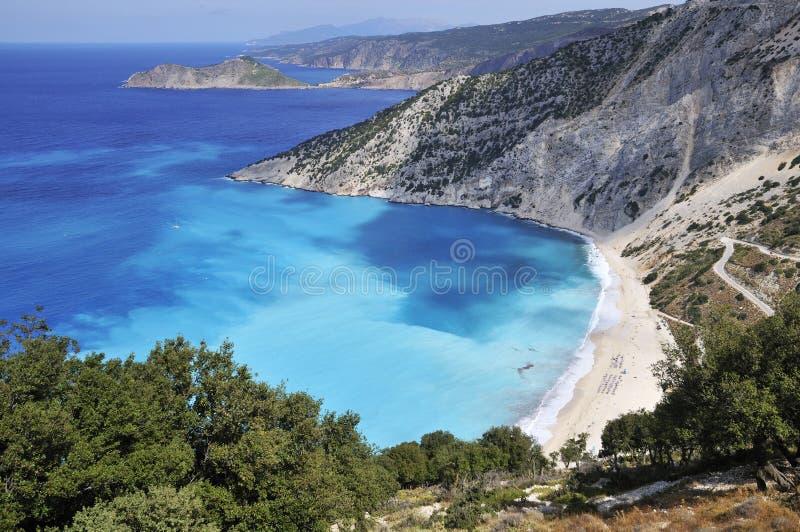 Costa grega imagem de stock royalty free