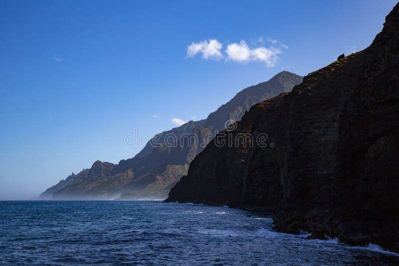 Costa Hawai fotografie stock libere da diritti