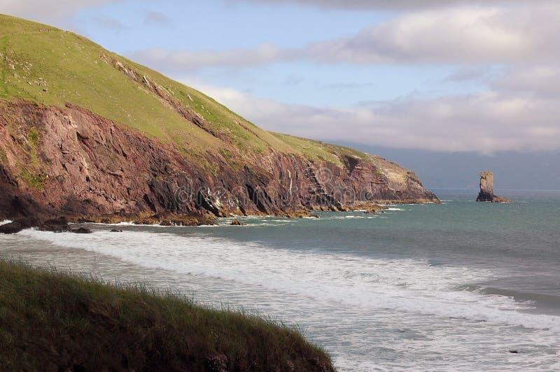 Costa irlandesa fotos de stock