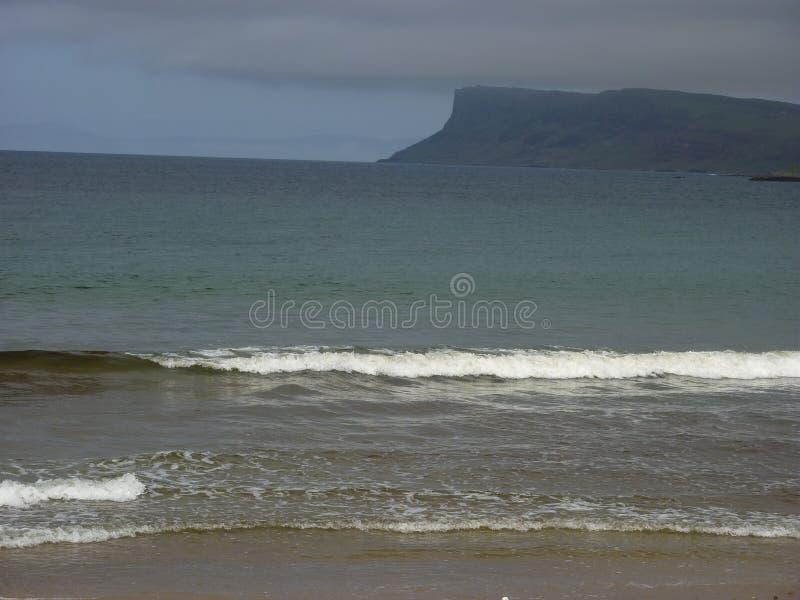 Costa irlandesa do norte imagens de stock