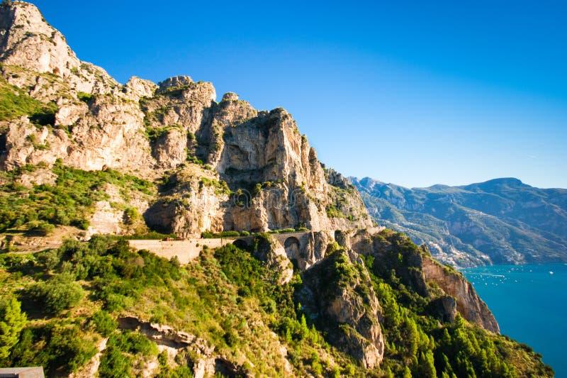 Costa Italia di Amalfi fotografie stock