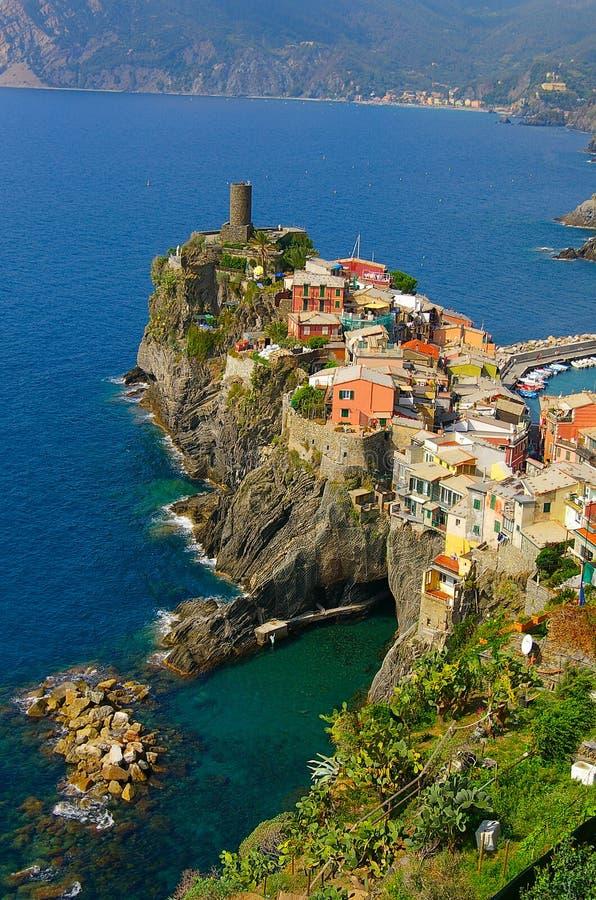 Costa italiana imagem de stock royalty free