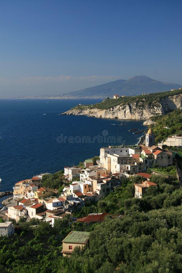 A costa italiana fotos de stock